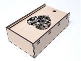 Коробка 01.5, сердце резное малое, без перегородок.