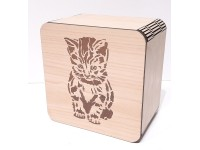 коробка 15,1 шкатулка котик