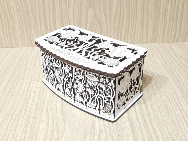 Подарочная коробка 17, Аквариум