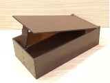 Коробка 164 с откидной крышкой, с перегородкой