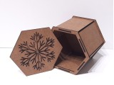 Коробка 167 Снежинка